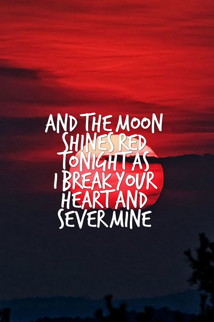 jamie mcdell- moon shines red (my edit) do not remove this caption