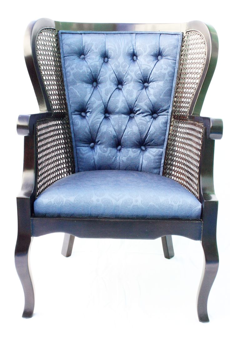 Regency Cane High Wingback Chair Wingback chairs for