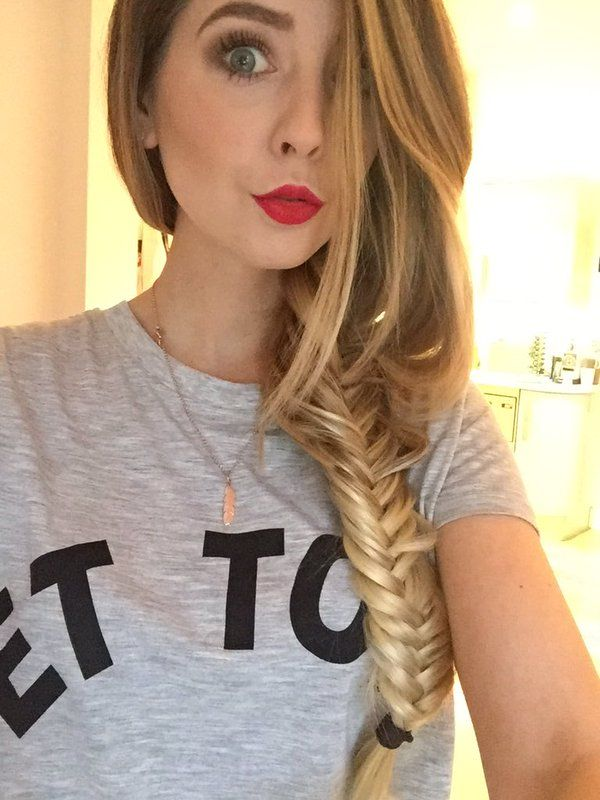 """zoellahq: """" """"ZozeeBo: After following @amberlfillerup I realised how much I missed braiding my long hair, so I bought some extensions """" """""""