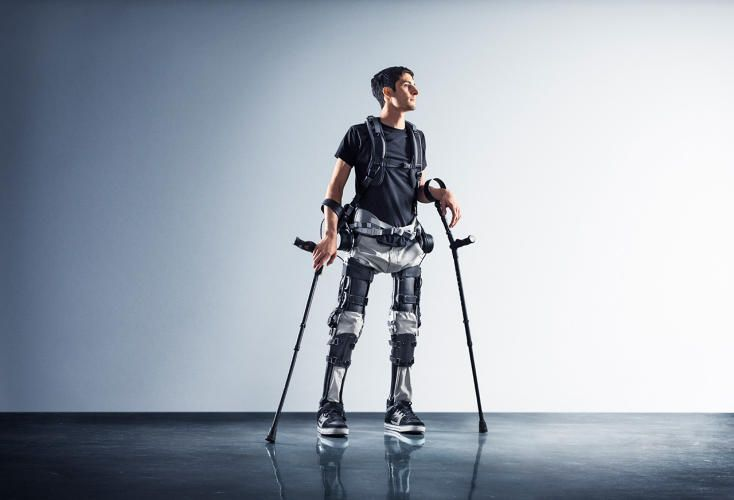 A Budget Exoskeleton Allows Paraplegics To Walk--For The Price Of A Car | Co.Design | business + design