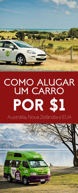 como alugar carro barato por um dolar australia nova zelandia estados unidos