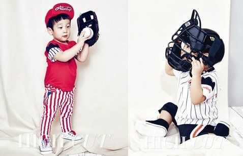 Seo Eon and Seo Joon Pose as Adorable Baseball Players In Pictorial
