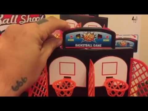 Basketball Shooting Game, YUYUGO 2-Player Desktop Table Basketball Games...