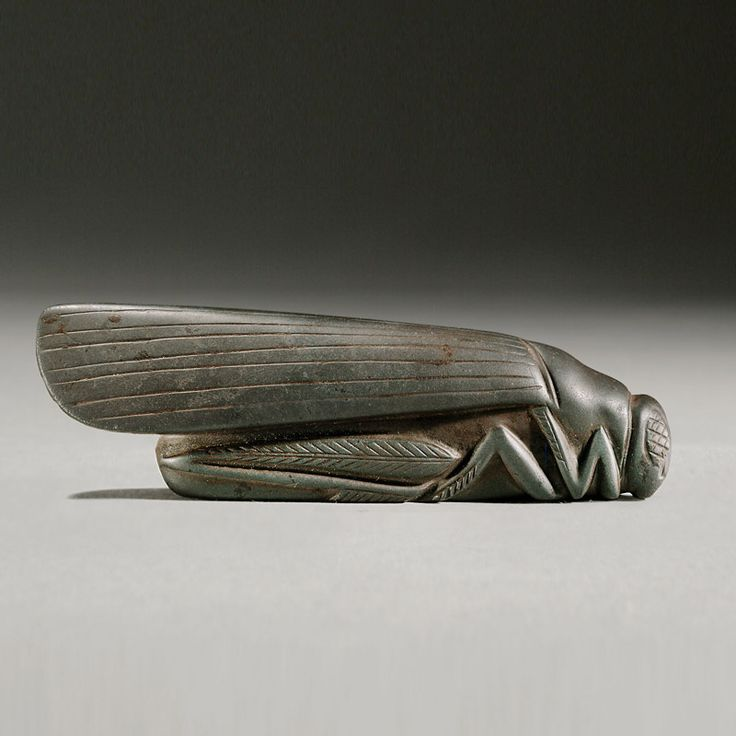 Babylonian Stone weight in the shape of a Grasshopper  Culture : Mesopotamian  Period : Babylonian, 18th-17th Century B.C.