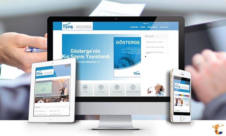 Türkiye Sermaye Piyasaları Birliği'nin (TSPB) web sitesi, yenilenen responsive tasarımı ile yayında.  www.tspb.org.tr  #Beycon #TSPB #webyazılım #webtasarım