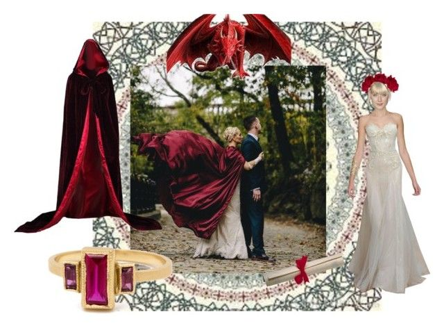 Dream a little wedding by gabri-ella on Polyvore featuring art