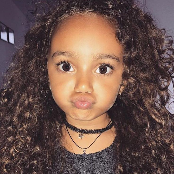 She is so cute! What a beautiful little girl with curly ...