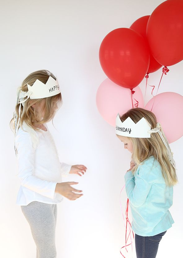 printable birthday crowns