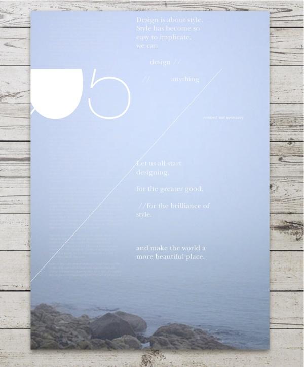 the power of design by Grafik BS , via Behance