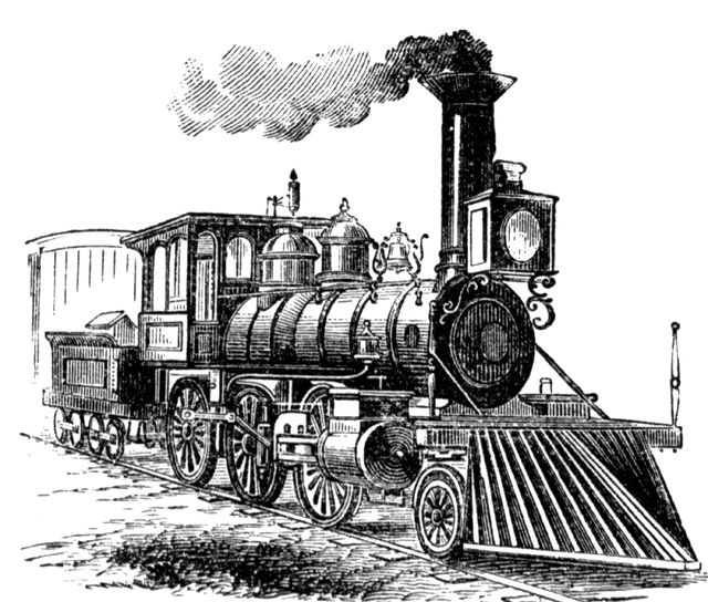 Locomotive | ClipArt ETC