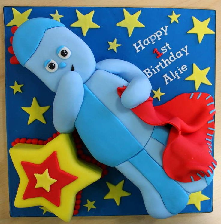 Iggle Piggle from In the Night Garden cake