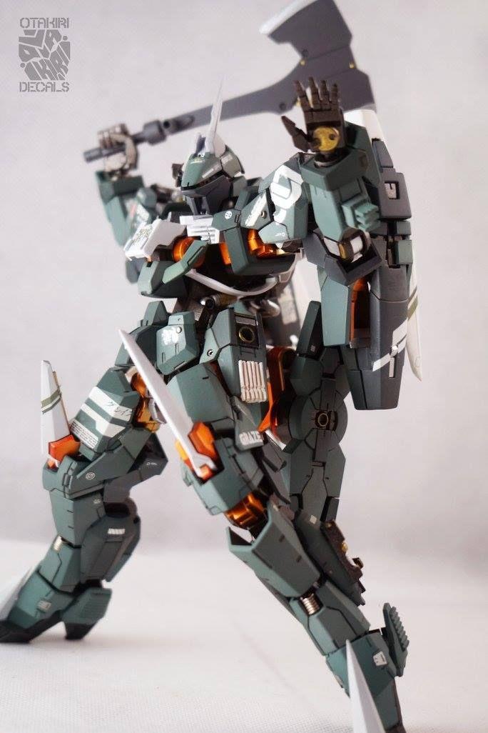 Custom Build: 1/100 Claymore Graze - Gundam Kits Collection News and Reviews