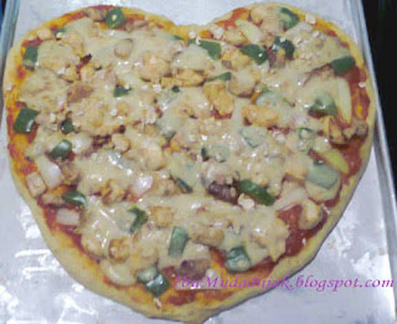Lovely Oatmeal Pizza