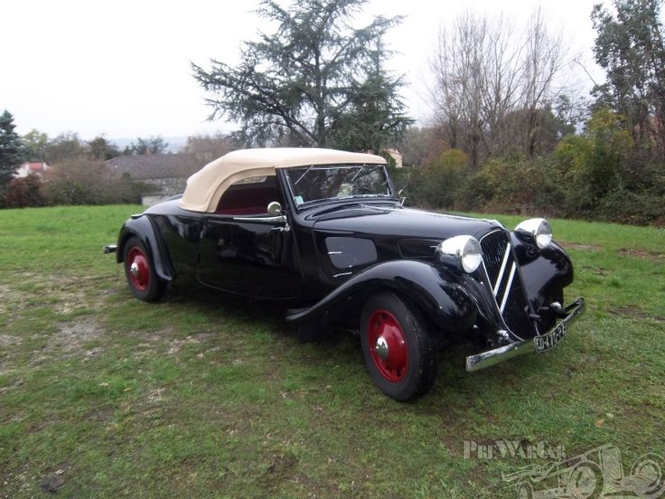 1939 Citroën TRACTION AVANT ROADSTER