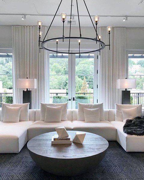 Top 50 Best Living Room Lighting Ideas Interior Light Fixtures Living Room Lighting Design Chandelier In Living Room Living Room Lighting