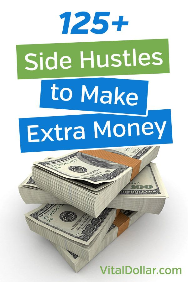 Side Hustles: 125+ Ways to Make Money in Your Spare Time. Ideas to increase / supplement your income. Work from home, make money online opportunities. Part-time business ideas. Blogging, online surveys, services, test websites, and much more. #sidehustle #makemoneyonline #makemoney #workfromhome
