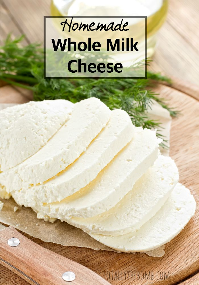 Easy Homemade Whole Milk Cheese
