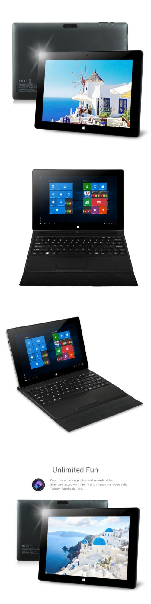 computers: Irulu 10.1 Windows10 Walknbook Intel Tablet Pc 2G+32G Hdmi Laptop Bluetooth Hot -> BUY IT NOW ONLY: $119.99 on eBay!