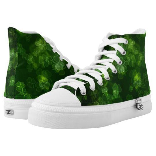 Lucky Green Shamrocks High Tops #stpatricksday st.patricks day #shamrock #sneakers saints patricks day outfits #womensday shoes sneakers Shoes heels shoes teen shoes flats shoes boots womens shoes sneakers womens shoes flats womens shoes high heels womens shoes casual womns shoes for work mens shoes casual mens shoes with jeans mens shoes dress st patricks day shoes  #shoesoftheday #shoes zazzle produtc #irish #womensshoes #mensshoes #heels #boots canvas shoes #canvasshoes #zazzle #menswear