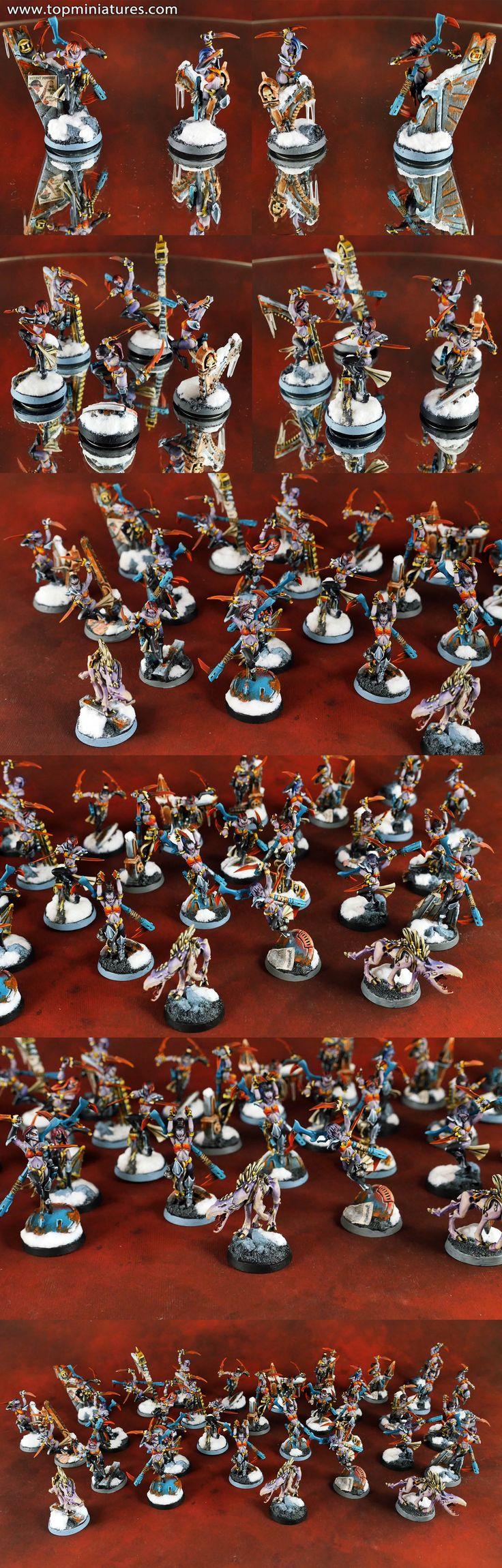 Warhammer 40k tau empire kroot females conversions