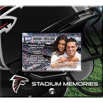 That's My Ticket - National Football League Collection - 8 x 8 Postbound Scrapbook and Photo Album - Atlanta Falcons