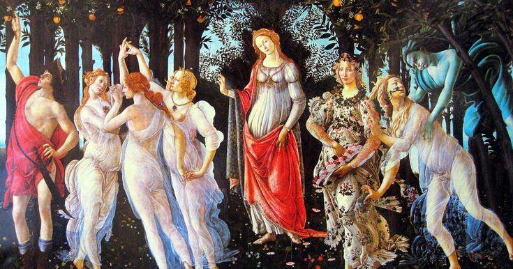 Эпоха Возрождения подарила человечеству невероятные по красоте полотна. Причём многие из них содержат скрытые символы и смыслы. Один из таких шедевров - «Весна» Сандро Боттичелли. В этой прекрасной картине скрыто гораздо больше, чем кажется. О некоторых символах и аллегориях этого удивительного полотна и пойдет речь в этом обзоре.
