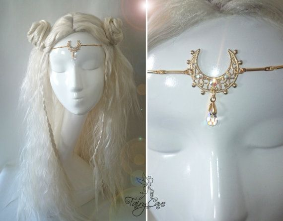 Sailor Moon Crystal circlet by FairyCaveShop on Etsy