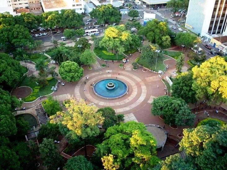 Campo Grande city and capital of State of Mato Grosso do Sul, BR