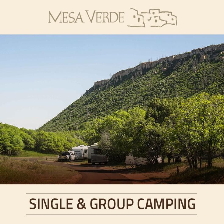 Morefield campground offers single and group camping. Book your next reservation and experience the unspoiled beauty that is Mesa Verde National Park.