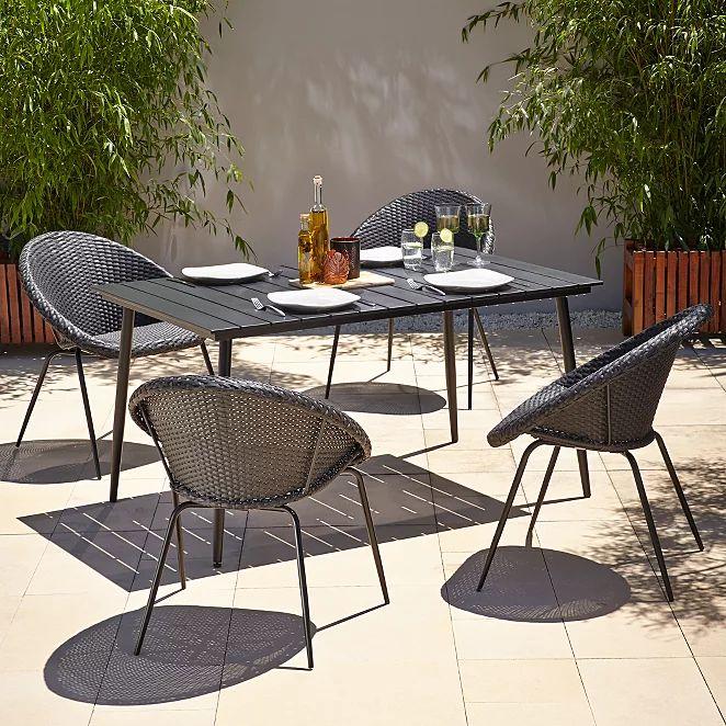 Jarvis 5 Piece Patio Set Home & Garden at ASDA