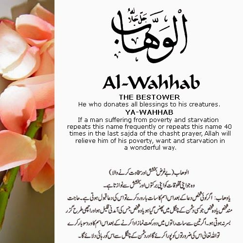 The 99 Beautiful Names of Allah with Urdu and English Meanings: 14- Allah names