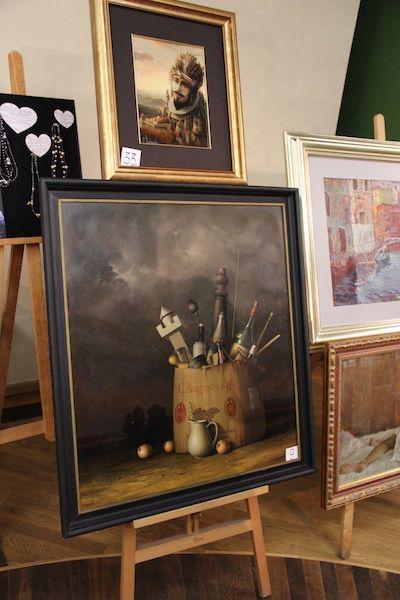 Na aukcji.M.Michalik-Martwa natura