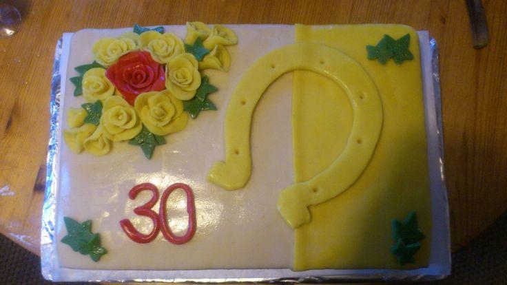 30år kake