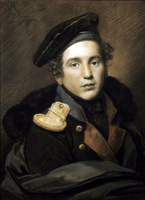 Орест Кипренский.Портрет Петра Алексеевича Оленина.1813.
