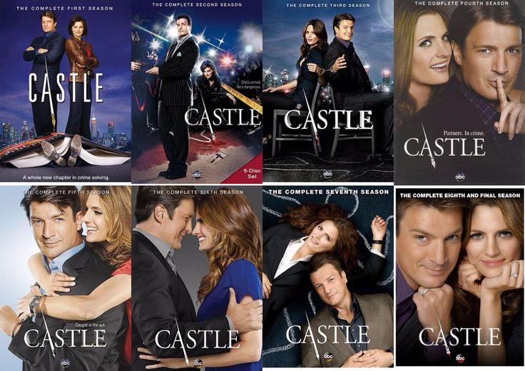 Castle Seasons 1-8 Set (DVD)