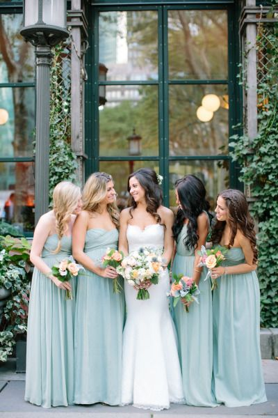 Nyc Summer Garden Wedding In Bryant Park