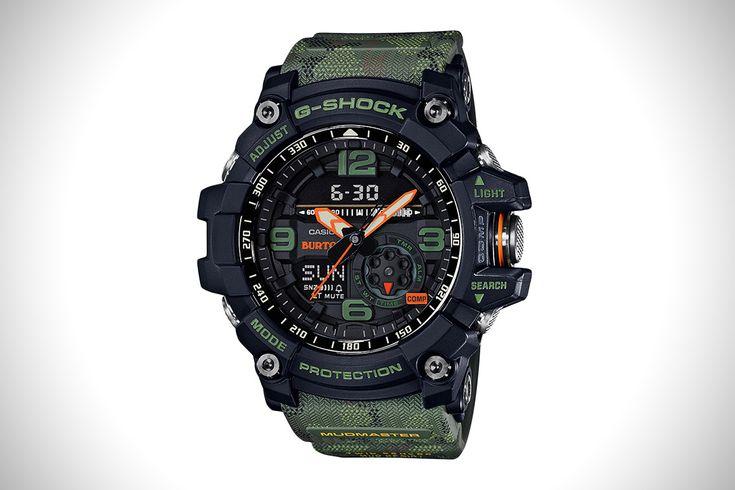 Burton X G-Shock Mudmaster   HiConsumption