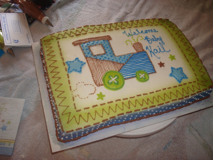 Train Baby Shower My Cakes And Other Crafts Pinterest