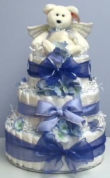 Baby Shower Diaper Cake - Diaper Cakes for Baby Showers