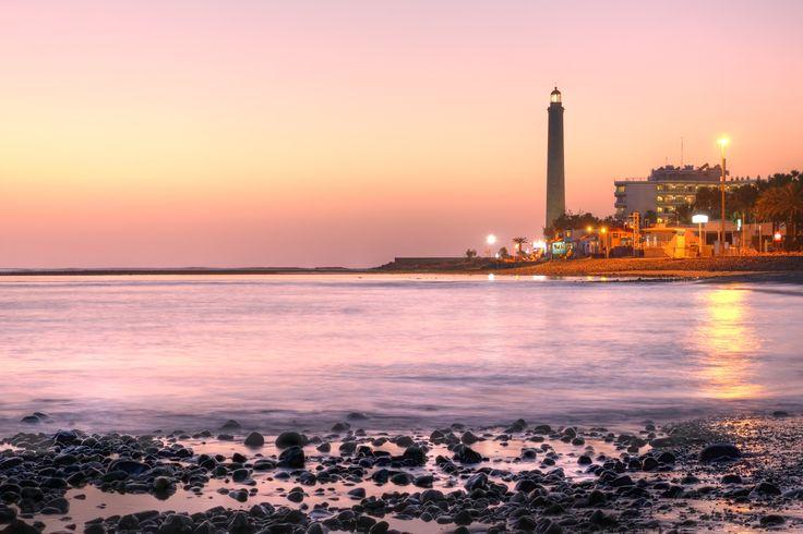 Maspalomas lighthouse, Gran Canaria, #Spain