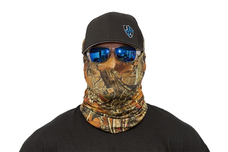 Sa co face shields offer style and sun protection without for Sa fishing face shield