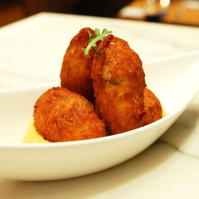 portuguese codfish fritters | good eats and treats | Pinterest