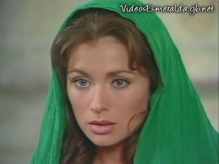 Leticia Calderon, beautiful, woman, lady, hair, eyes, wow, lady, esmeralda, telenovela, green