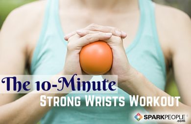 A Do-Anywhere Routine for Stronger Wrists http://www.sparkpeople.com/blog/blog.asp?post=the_10minute_strong_wrists_workout&utm_content=buffer74083&utm_medium=social&utm_source=pinterest.com&utm_campaign=buffer #WeightLoss #fitnesstips #paosfitworld