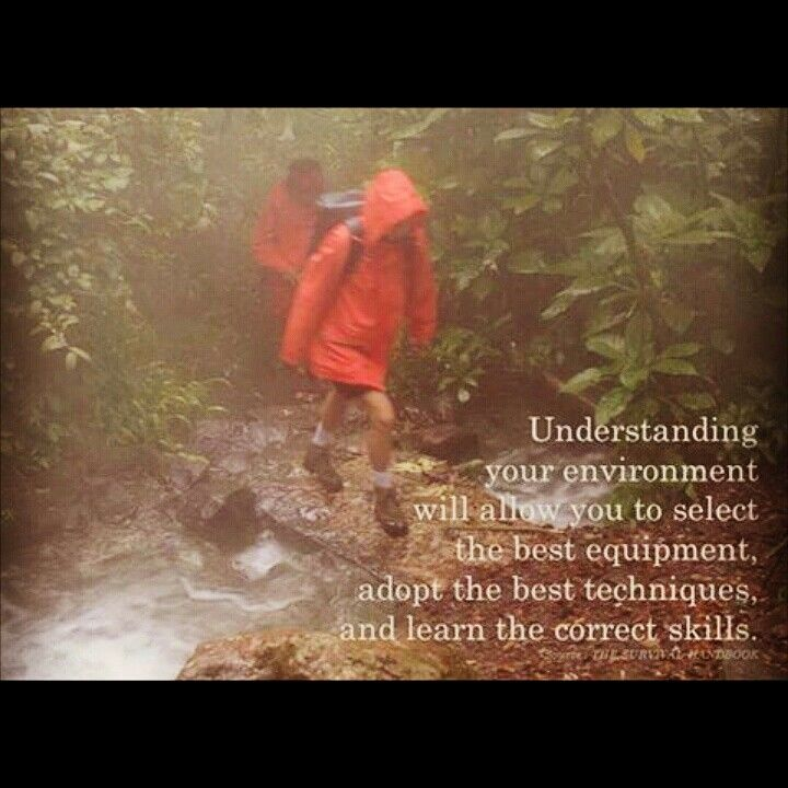 Pahamilah lingkunganmu