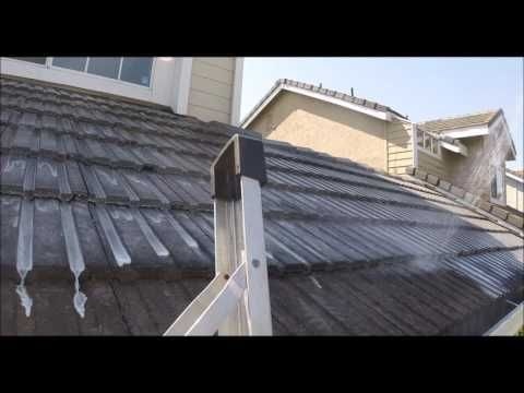 Certified SoftWash Roof Cleaning Fremont CA Tile Roof