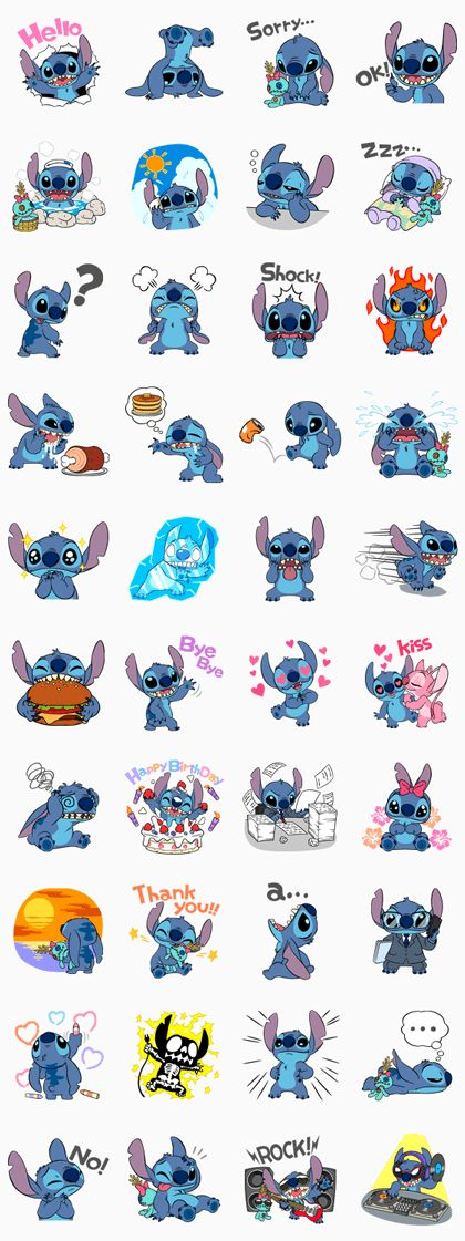 Stitch Line Sticker - Rumors City