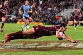 Go the mighty MAROONS! State of origin 2012.