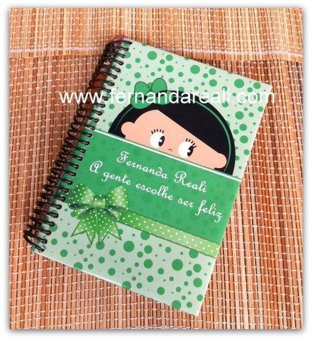 Caderno personalizado pela @Lily Luz. É tudo muito bem feito!