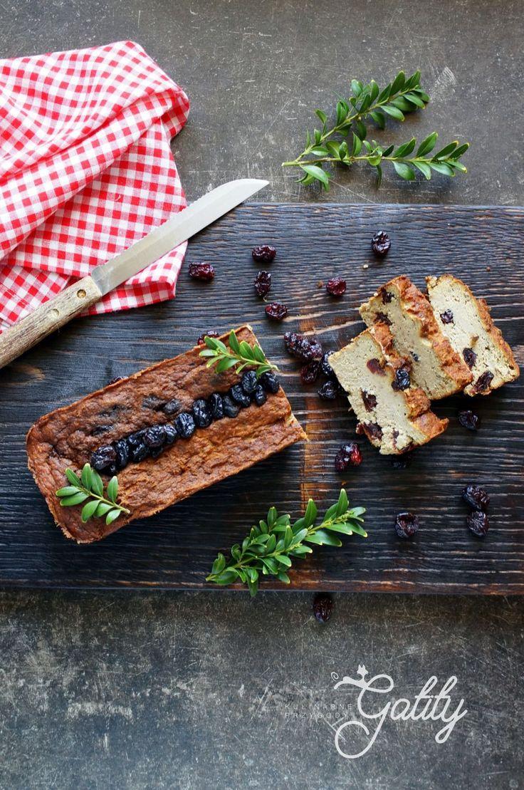 Kulinarne przygody Gatity - przepisy pełne smaku: Pasztet mięsny z żurawiną
